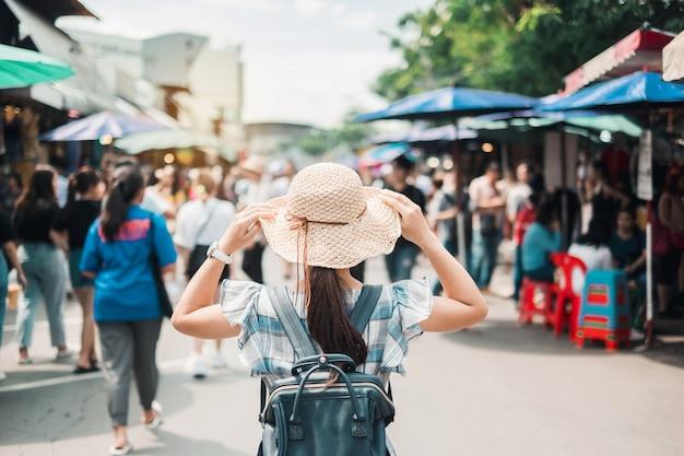 Conceito de viagem bangkok