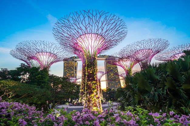 Conceito de viagem de singapura