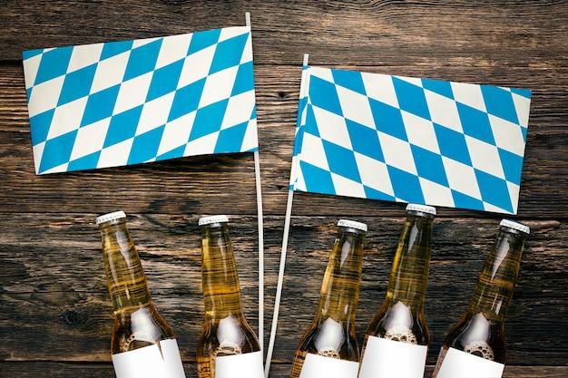 Conceito do festival de cerveja alemão oktoberfest