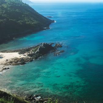 Conceito do mar das férias de verão das férias da ilha da praia