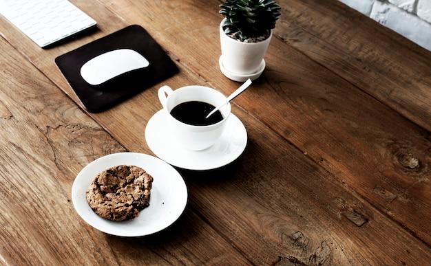 Conceito do pensamento criativo das ideias do café do esboço do estilo do café