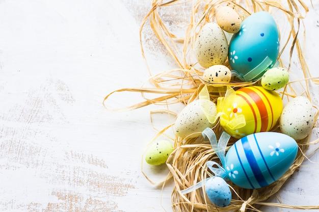 Conceito festivo de páscoa