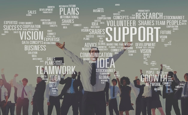 Conceito futuro voluntário dos planos do crescimento das ideias da perícia futura