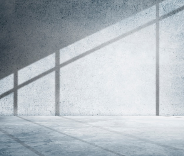 Conceito interno do espaço interior da arquitetura da sala