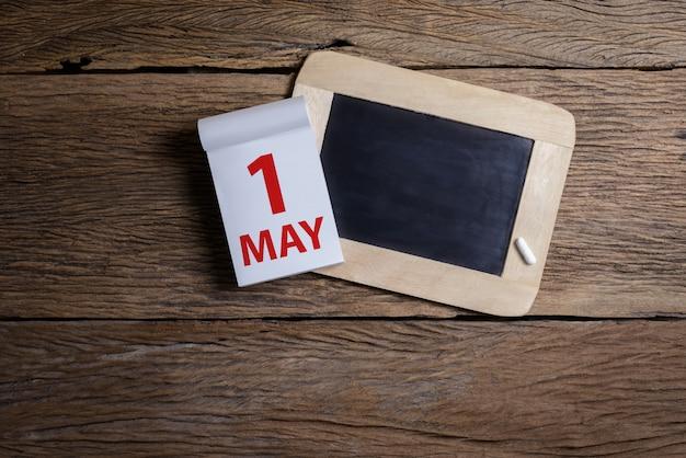 Conceito may day, 1 de maio