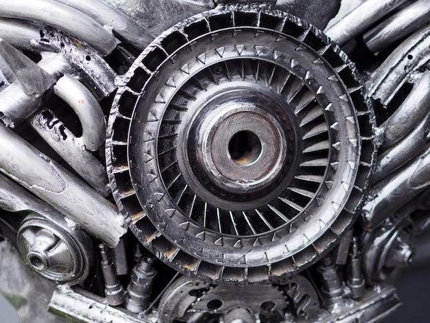 Conceito mecânico sobre partes de carros