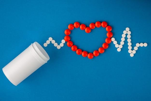 Conceito médico de comprimidos