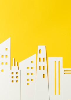 Conceito urbano com edifícios