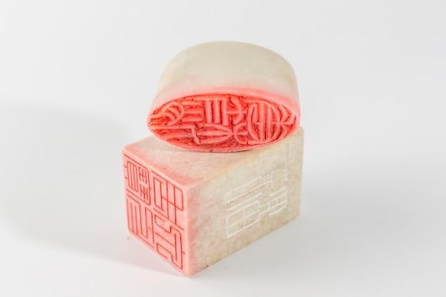 Conceitos antigos símbolo fundo de cristal china