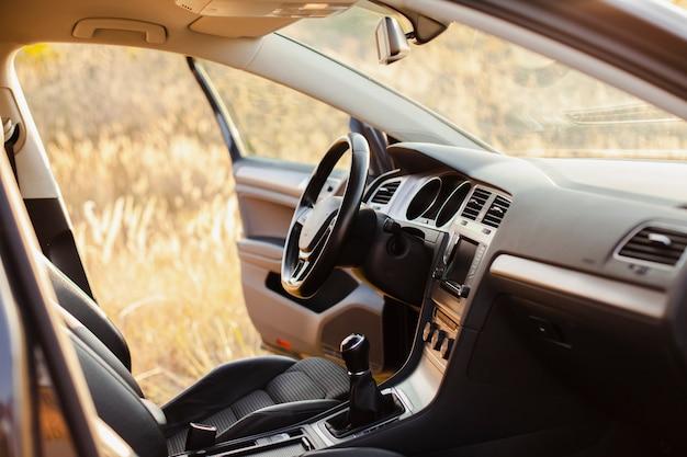 Conclusão do interior do carro