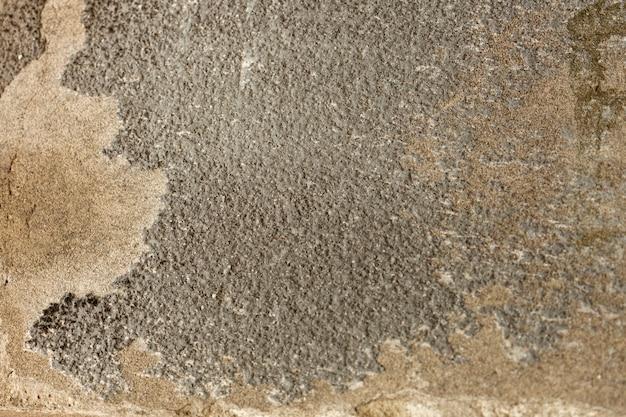 Concreto áspero com superfície envelhecida