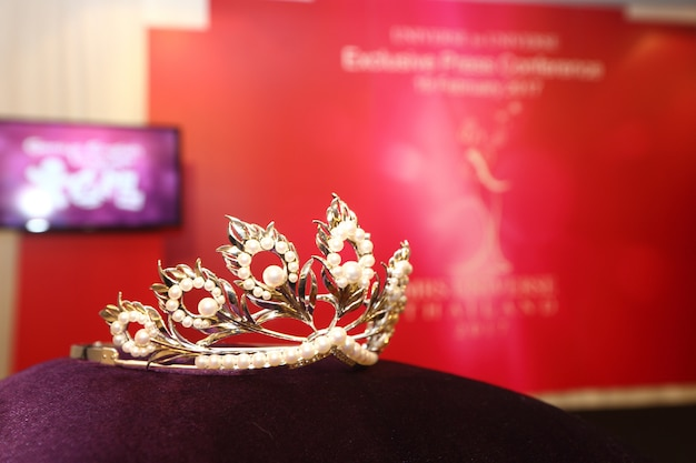 Concurso de beleza diamond silver crown miss pageant