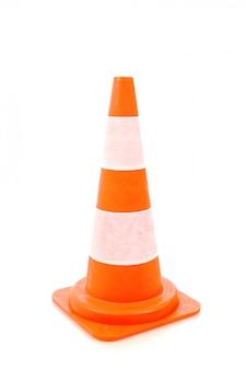 Cone de aviso de estrada