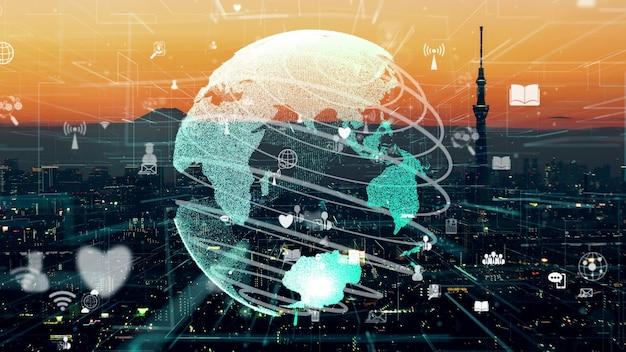 Conexão de rede e comunicação com a internet