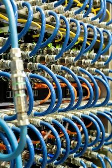 Conexão do cabo do servidor
