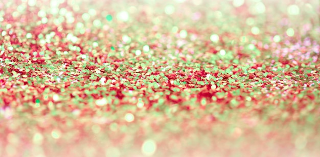 Confete de pontos de brilho brilho. abstrato luz desfocar piscar brilho desfocagem backgound.