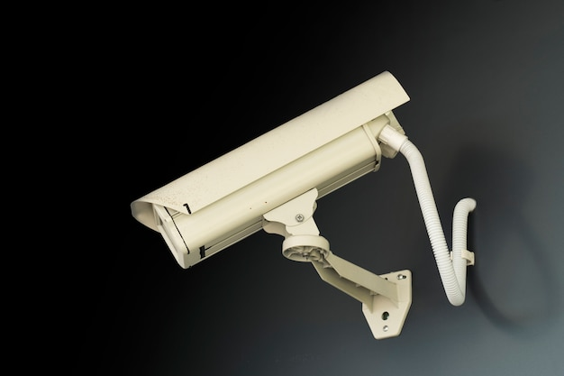 Configuração da câmera cctv por segurança.