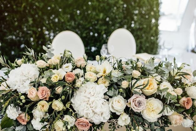 Configuração de mesa de casamento georgeous