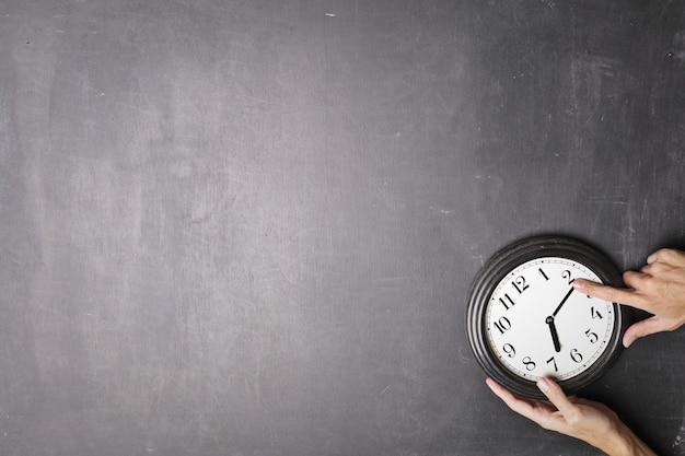 Configurando o tempo