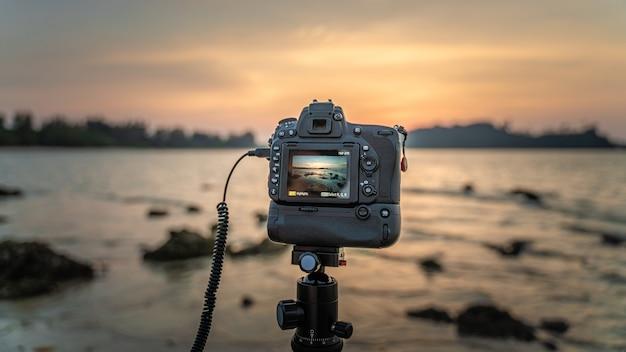 Configurando uma câmera digital