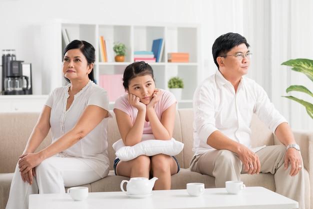 Conflito dos pais