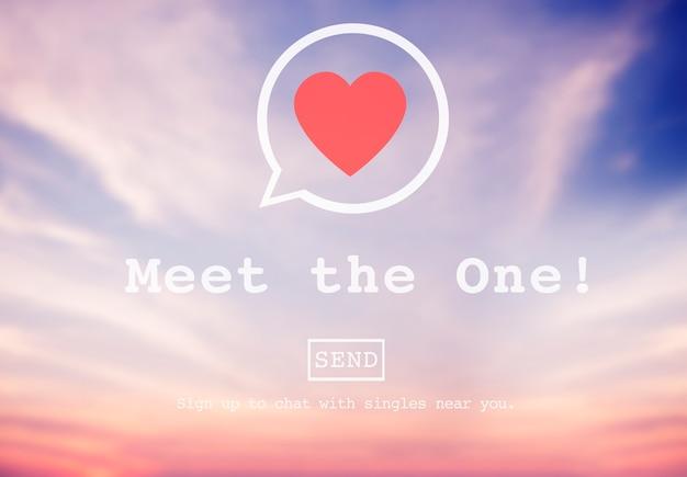Conheça o one online matchmaking - página de inscrição