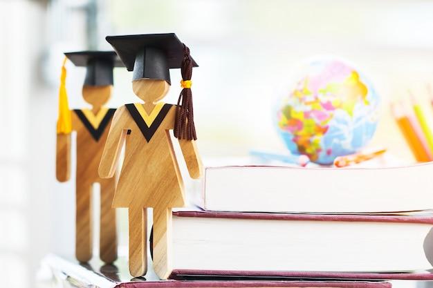 Conhecimento de educação aprendizagem estudo no exterior ideias internacionais.
