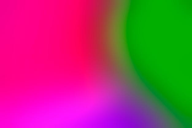 Conjunto brilhante de cores embaçadas