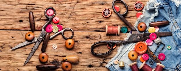 Conjunto de acessórios de costura