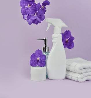 Conjunto de amenidades de banho para produtos cosméticos para serviços de hotel
