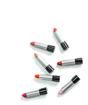 Conjunto de batons coloridos