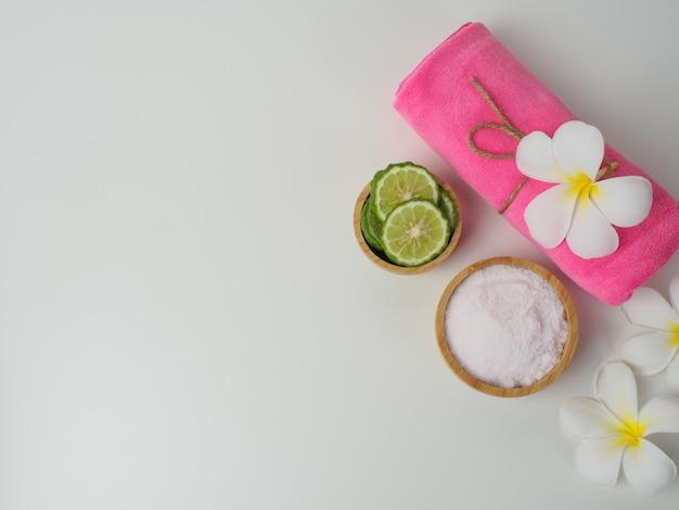 Conjunto de bem-estar do spa