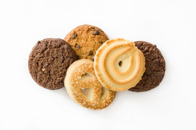 Conjunto de biscoitos de manteiga
