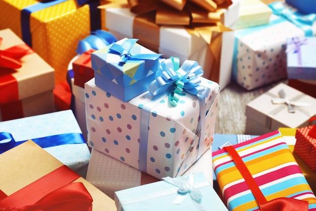 Conjunto de caixas de presente