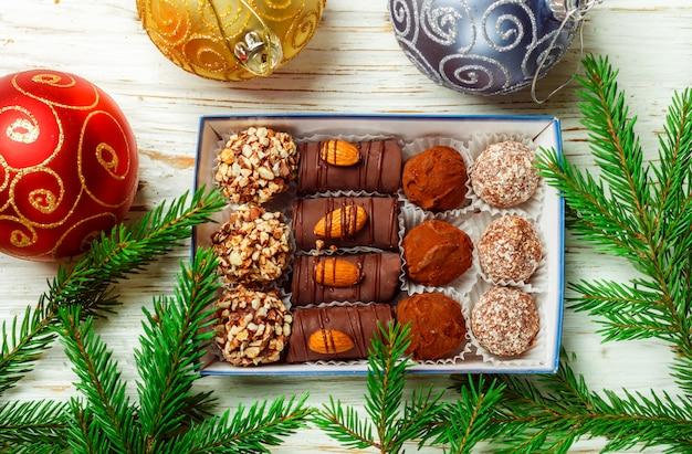 Conjunto de chocolates