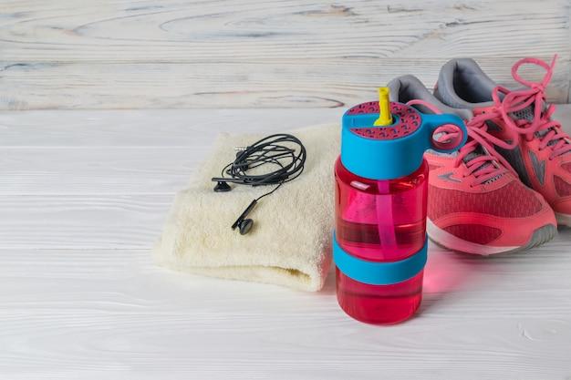 Conjunto de conceito de atletas ou mulheres que procuram perder peso