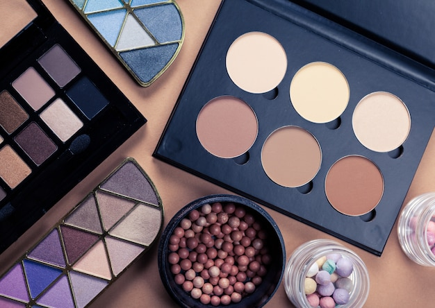Conjunto de cosméticos decorativos