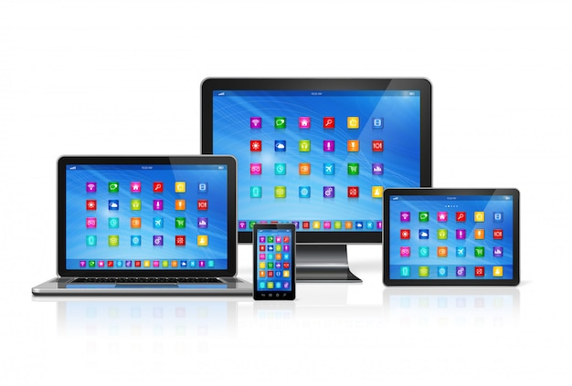 Conjunto de dispositivos de computador