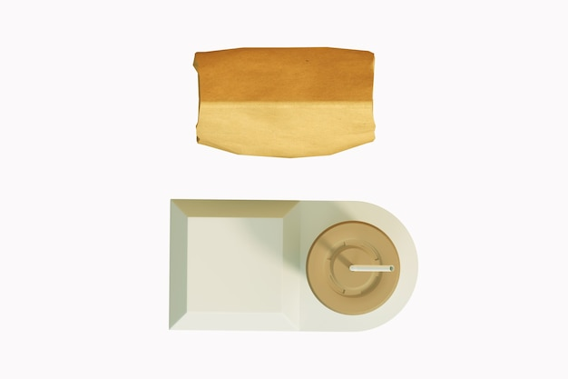 Conjunto de embalagens de fast food Foto Premium