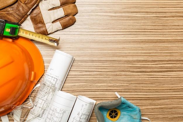 Conjunto de ferramentas de arquiteto