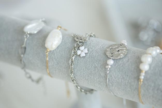 Conjunto de joias artesanais para confecção de joias com ferramentas profissionais, acessórios de beleza e moda