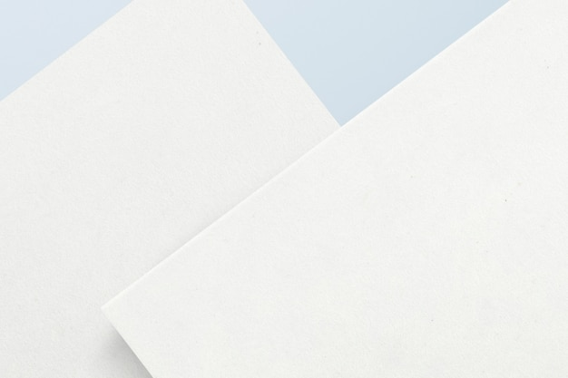 Conjunto de papel de carta em branco
