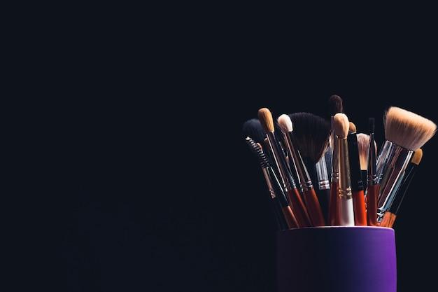 Conjunto de pincéis de maquiagem profissional