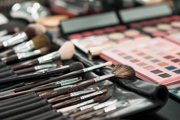 Conjunto de pincéis para maquiagem