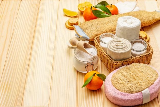 Conjunto de produtos ecológicos