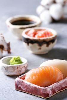 Conjunto de rolo de sushi