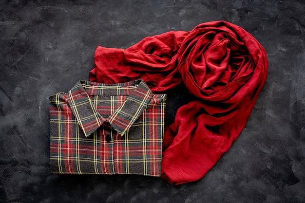 Conjunto de roupas da moda de acessórios