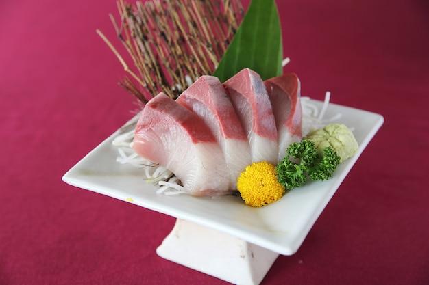 Conjunto de sashimi