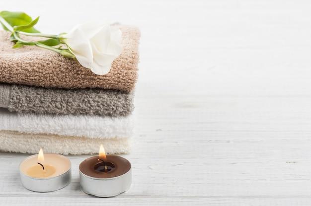 Conjunto de toalhas de banho