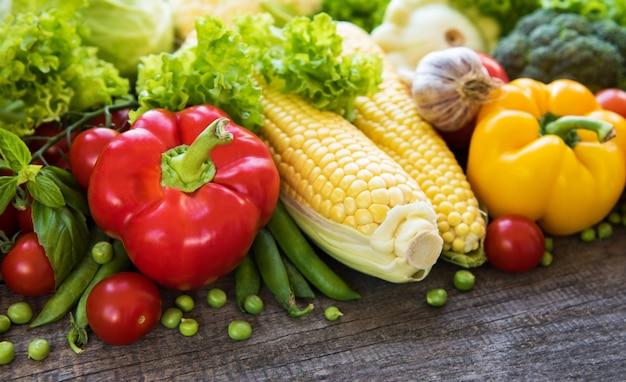 Conjunto de vegetais